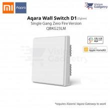 Xiaomi Aqara Smart Home Switch D1 Wall Plug Single Gang Zero Fire ZigBee QBKG23LM