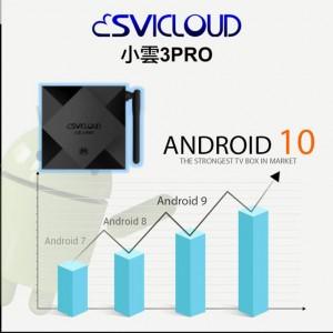Svi Cloud 3 PRO Android TV Box Lifetime IPTV MSIA 4GB RAM 32GB ROM