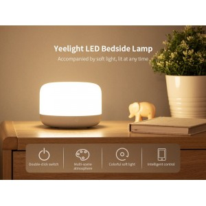 Xiaomi Yeelight D2 Bedside Lamp 2 Smart Light RGB Apple Homekit YLCT01YL