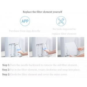 Xiaomi Smart Water Purifier C1 Filter RO Filtration System App Control 3 Outlet MRB33