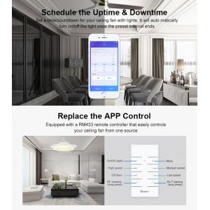 Sonoff Smart Home iFan 03 ifan03 Wifi Wireless App Control RF 433mhz Amazon Google