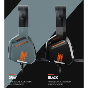 PLEXTONE G800 Gaming Headphones LED Light E-sports Over Ear Headset with Mic On-Ear Headphone