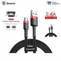 Baseus Cafule Micro USB Cable 2.4A USB Data Sync 1M