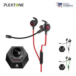 Plextone G50 Gaming Earphone Headset In-ear Earbud Vibration DS5 Adapter 7.1 (3.5mm)