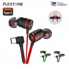 Plextone G20 Gaming Earphone Headset In-ear Earbud Magnetic w Mic (Type C)