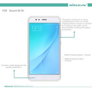 Xiaomi A1 MiA1 5X Nillkin Tempered Glass Screen Protector H+Pro