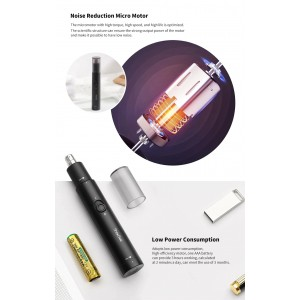 Xiaomi Showsee Electric Nose Hair Trimmer Waterproof High Speed C1-BK