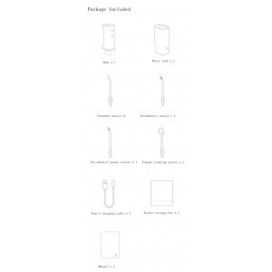 Xiaomi Mijia Mi Oral Irrigator IPX7 Dental Water Jet Floss 4 Modes MEO701