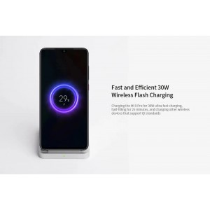Xiaomi Mi Wireless Charger Stand  Pad 30W Qi Air Cooled Quick Charge Type C MDY-11EG
