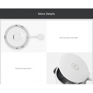 Xiaomi Mi Mijia Kettle 1A Electric Water Stainless Steel 1800W MJDSH02YM (1.5L)