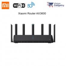 Xiaomi Mi Router AX3600 Gigabit Qualcomm A53 Dual Band WiFi 6 802.11ax AIoT R3600