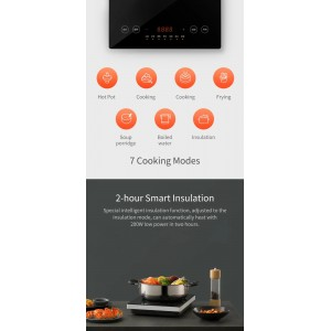 Xiaomi Mi Mijia Induction Cooker A1 2100W 9 Speed Fire Precision Control MDCL0P1ACM