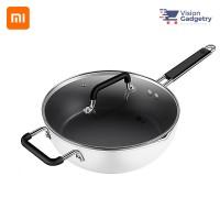 Xiaomi Zhiwu Non-stick Saute Pan Wok Cooking Induction Cooker Pot GJC03CM (26cm)
