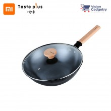 Xiaomi Taste Plus 2.0 Ligtweight MOTOFE Iron Frying Pan Stir-fry Wok TP3C30 (30cm)