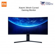 Xiaomi 34 inch Curved Gaming Monitor 144Hz 1500R Curvature 2K E-Sports XMMNTWQ34