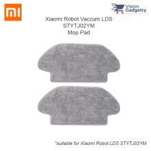 Xiaomi Mijia Mi Robot Vacuum LDS Mop Pad Cloth 2pcs Accessories STYTJ02YM-TB