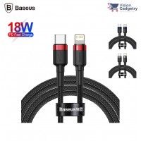 Baseus Cafule Type C to Lightning PD USB Cable 18W USB Data Sync 1M