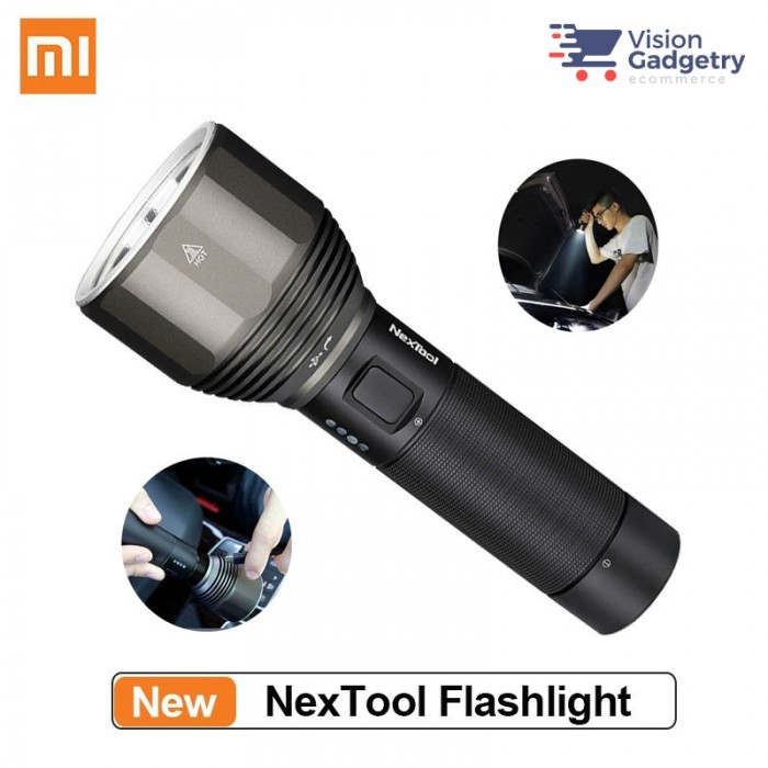 FROM XIAOMI YOUPIN NexTool XPH50.2 2000lm 6500K 380m USB-C Rechargeable