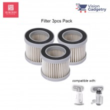Xiaomi SWDK Dust Mite Vacuum Cleaner Replacement HEPA Filter (3pcs Pack) HA01 for SWDK KC101 / KC301