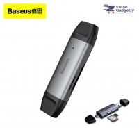 Baseus Lentil Cabin Card Reader USB 3.0 Micro SD/TF SD Card Dual Type C/ USB CADKQ-B0G