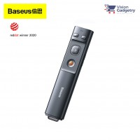 Baseus Orange Dot Presenter Laser LED Pointer 2.4GHz 100m ACFYB-0G