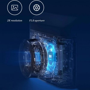 Xiaomi Mi Mijia Smart Car Camera 2 DVR Dashcam 1600P 2K Version XMMJJLY03