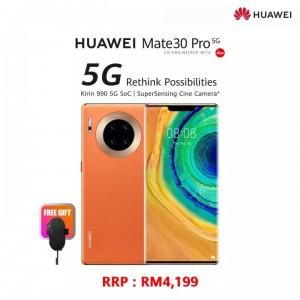 Original Huawei Mate 30 PRO 5G 8GB RAM 256GB ROM 1 Year Huawei Malaysia Warranty