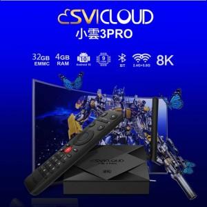 Svi Cloud 3 PRO Android TV Box Lifetime IPTV MSIA 4GB RAM 32GB ROM [WHOLESALE]