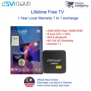 Svi Cloud Malaysia Version Android TV Box Lifetime IPTV MSIA [WHOLESALE]