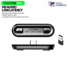 Plextone GS2 Bluetooth Audio USB Transceiver Type C Dual Headset APTX Gaming