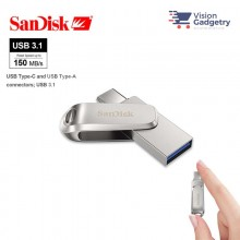 Sandisk Ultra Dual Drive LUXE Type-C OTG USB 3.1 DC4 Flash Drive 150MB/S 32GB