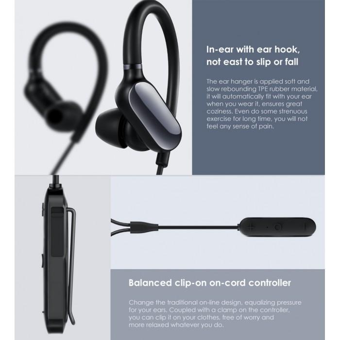 4fcf315b3d7 Music Sport Earbuds Sweatproof Xiaomi Sports Bluetooth Wireless Mini Ver. Music  Sport Earbuds Sweatproof ...