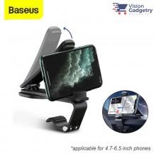 Baseus Big Mouth PRO Car Holder Mount Dashboard Clamp Black