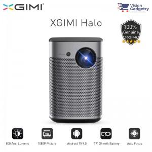 XGIMI Halo Portable Android TV Projector Harman Kardon 800 ANSI Lumens Global Version