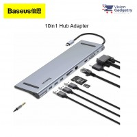 Baseus Enjoyment Type C Hub Adapter Converter 4K PD Charging 60w HDMI 10in1