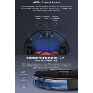 Xiaomi Robot Vacuum Cleaner PRO 2in1 Vacuum Mop 4000pa LDS 3D TOF MJSTS1
