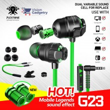 Plextone G23 Gaming Earphone Headset In-ear Earbud Anti Noise Mic Gaming Tuner E-Sport (3.5mm)