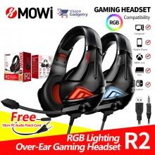 XMOWI R2 Gaming Headphone Headset In-ear Earbud Microphone Plextone (3.5mm)