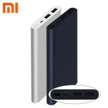 XiaoMi Mi PowerBank 10000mah 2S Dual USB Quick Charge Original PLM09ZM