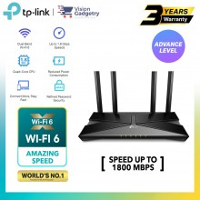 TP-Link Archer AX20 AX1800 Dual Band WiFi 6 Gigabit Wireless Wifi Router For UniFi/Maxis/Time/Celcom