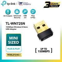 TP-Link TL-WN725N Wireless N Nano USB Adapter 105mbps Smallest