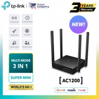 TP-Link Archer C54 AC1200 Dual Band Gigabit Multi-Mode 3in1 Wireless Wifi Router UniFi/Maxis/Time/Celcom