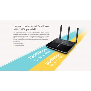 TP-Link Archer VR600v AC1600 Telephony VDSL/ADSL Wireless Wifi Router OneMesh UniFi/Maxis/Time/Celcom