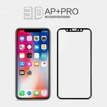 iPhone X XS NILLKIN 3D AP+ Pro Fullscreen Tempered Glass Screen Protector