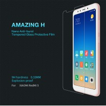Redmi 5 Nillkin H Tempered Glass Screen Protector