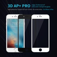 iPhone 6 Plus 6S Plus NILLKIN 3D AP+ Pro Fullscreen Tempered Glass Screen Protector