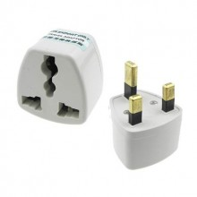 3 Pin China Adapter Travel UK Plug Socket to Malaysia Plug