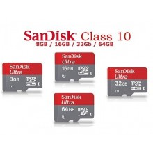 SanDisk CLASS 10 Micro SD Memory Card 16GB 32GB 64GB 128GB 200GB