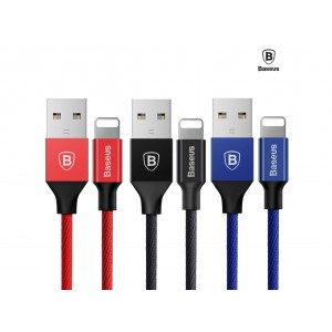 Baseus Yiven Micro USB Lightning TYPE C Data Charging Braided USB Cable
