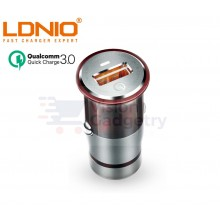 LDNIO C304Q 3A Quick Charge 3.0 Technology Intelligent Smart USB Car Charger